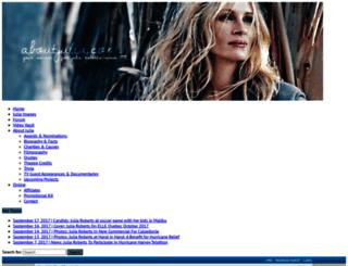 juliarobertsforums.com screenshot