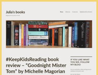 julias-books.com screenshot