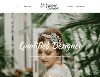 julieannedesigns.com.au screenshot