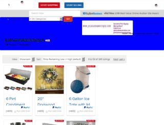 julieannsboutique.ebid.net screenshot