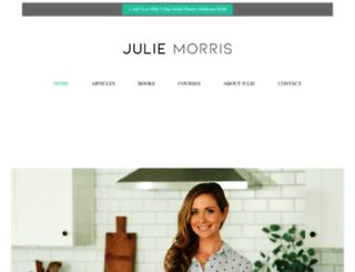 juliemorris.net screenshot