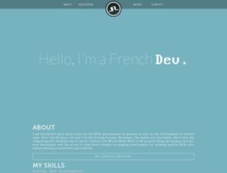 julienpierrelouis.fr screenshot