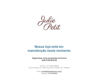 juliepetitbrecho.com.br screenshot