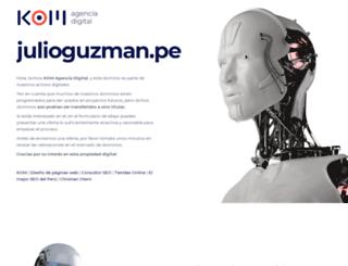 julioguzman.pe screenshot