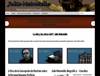 juliomeinvielle.org screenshot
