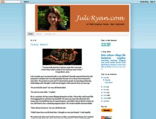juliryan.com screenshot