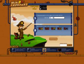 julitt.minitroopers.es screenshot