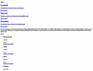 juliusbaer.com screenshot