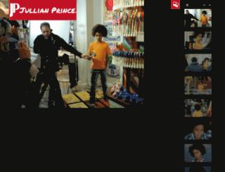 jullianprince.com screenshot