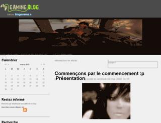 jullyeallen.gamingblog.fr screenshot