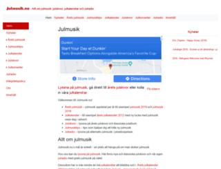 julmusik.nu screenshot