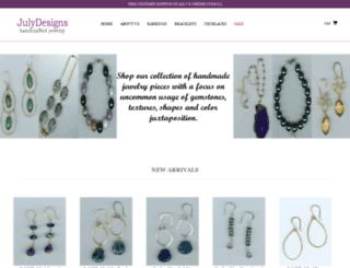 july-designs.com screenshot