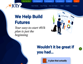 julyservices.com screenshot