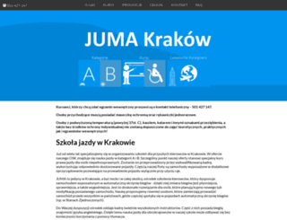 juma.krakow.pl screenshot