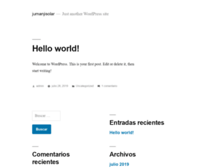 jumanjisolar.com screenshot