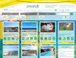 jumaros-immobilier.fr screenshot