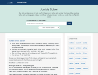 jumbleme.com screenshot