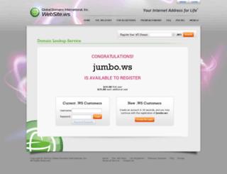 jumbo.ws screenshot