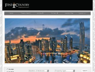 jumeirahlaketowers.fineandcountry.ae screenshot