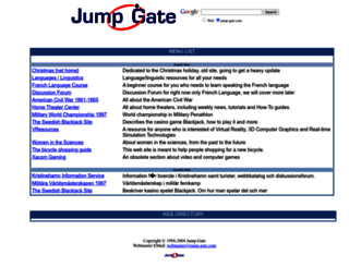 jump-gate.com screenshot