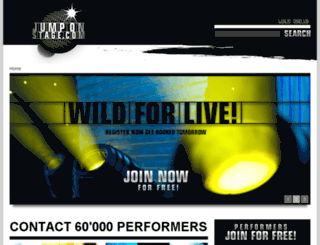 jump-on-stage.com screenshot