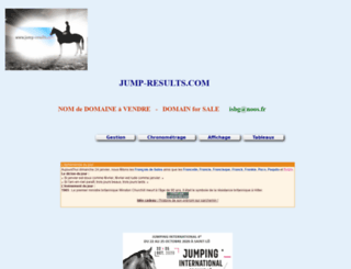 jump-results.com screenshot
