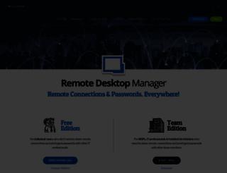 jump.remotedesktopmanager.com screenshot