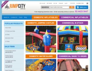 jumpcity.com.au screenshot