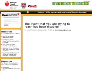 jumphoopsgsa.kintera.org screenshot