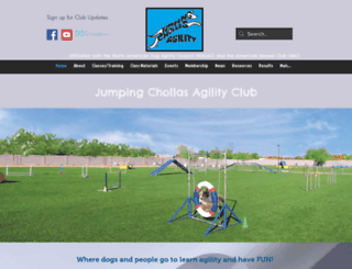 jumpingchollas.com screenshot
