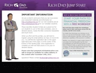 jumpstart.richdadeducation.com screenshot