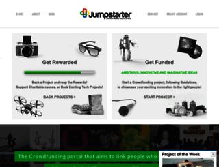 jumpstarter.co.za screenshot
