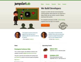 jumpstartlab.com screenshot