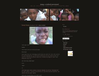 jumpvertically.wordpress.com screenshot