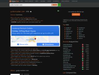 junbi-tracker.com.hypestat.com screenshot
