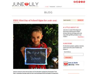 junelily.com screenshot
