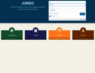 juneo.practiceupdate.com screenshot