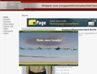 junggesellinnenabschied.npage.de screenshot