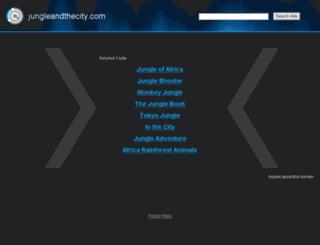 jungleandthecity.com screenshot