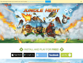 jungleheat.ru screenshot