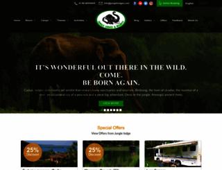 junglelodges.com screenshot