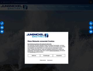 jungnickel-sanitaer.de screenshot