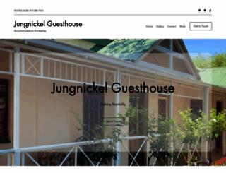 jungnickel.co.za screenshot