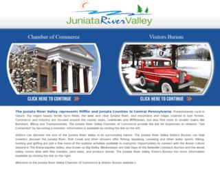 juniatarivervalley.org screenshot