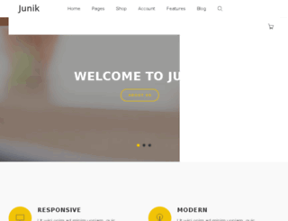 junik.diamondcreative.net screenshot