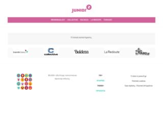junior.gr screenshot