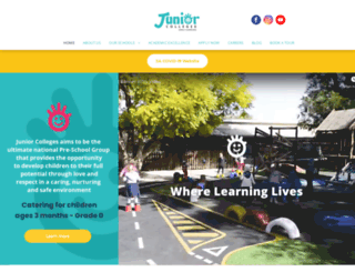 juniorcolleges.co.za screenshot