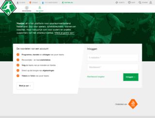 junioren.voetbal.nl screenshot