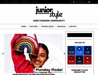 juniorstyle.net screenshot