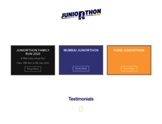 juniorthon.com screenshot